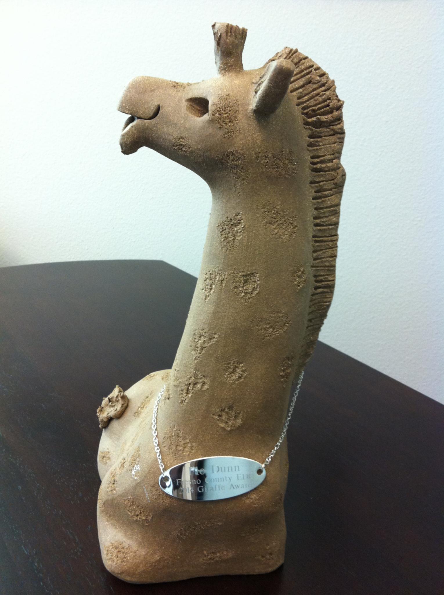 Flo Giraffe award 2014 (Copy)