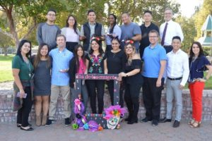 Student Organization SNPhA Hosts Dia de los Muertos Celebration