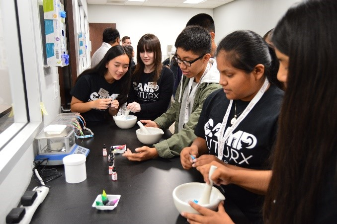 Summer Adventure in Pharmacy Continues at CHSU with Camp FutuRx