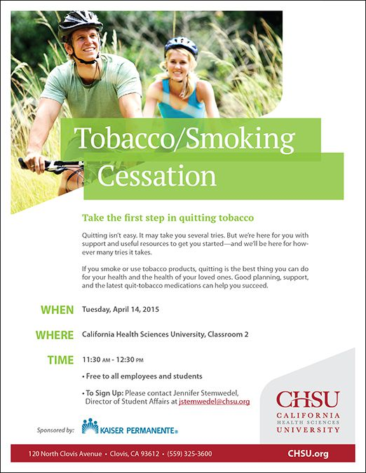 Tobacco/Smoking Cessation