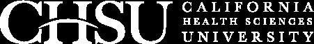 CHSU logo web 1 white
