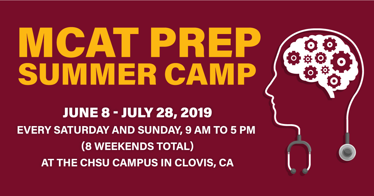 CHSU COM Offers MCAT Prep Summer Camp