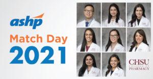 CHSU Pharmacy Student Residency Program Matches