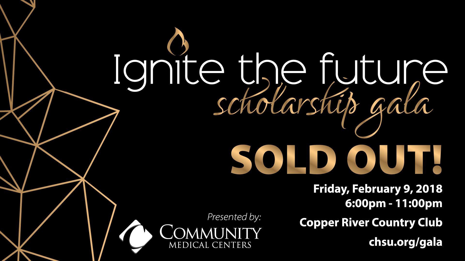 SOLD OUT – 3rd Annual Ignite the Future Scholarship Gala