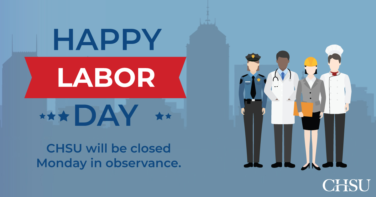 Closed in Observance of Labor Day