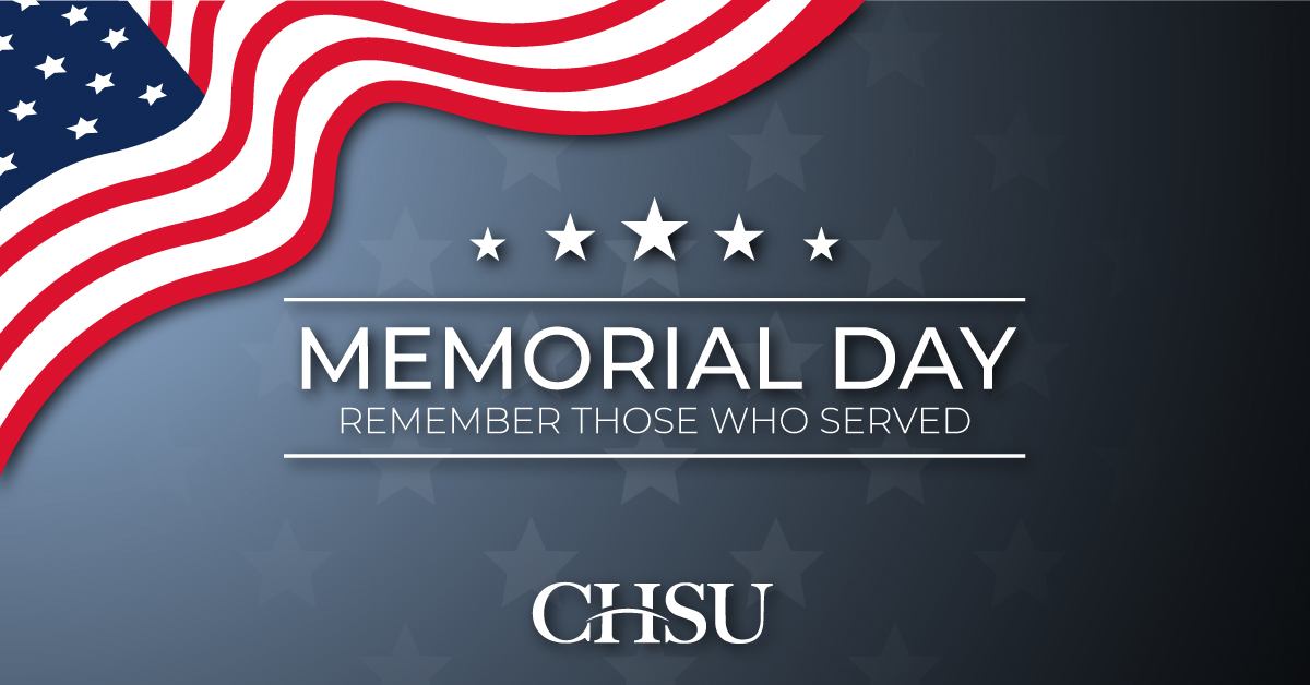 Closed in Observance of Memorial Day
