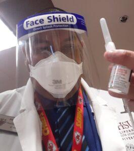 Raymond Alcaraz COVID Vaccinations