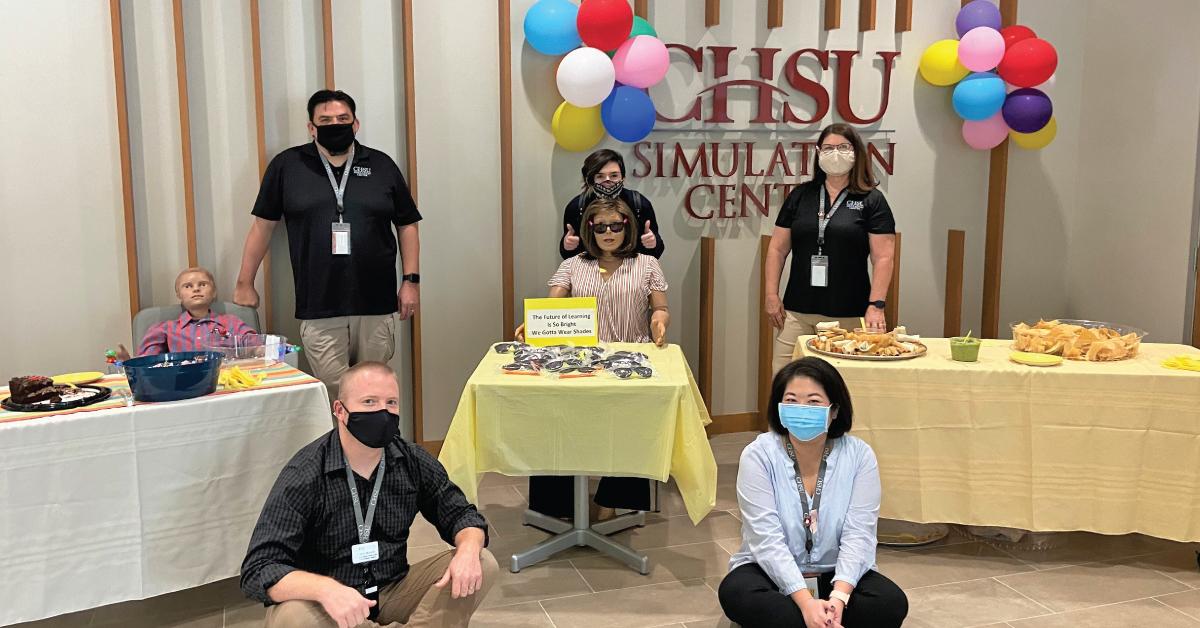 CHSU Celebrates Health Care Simulation Week 2020