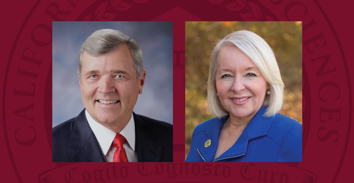 Bill Smittcamp and Lynnette Zelezny Join CHSU Board of Trustees
