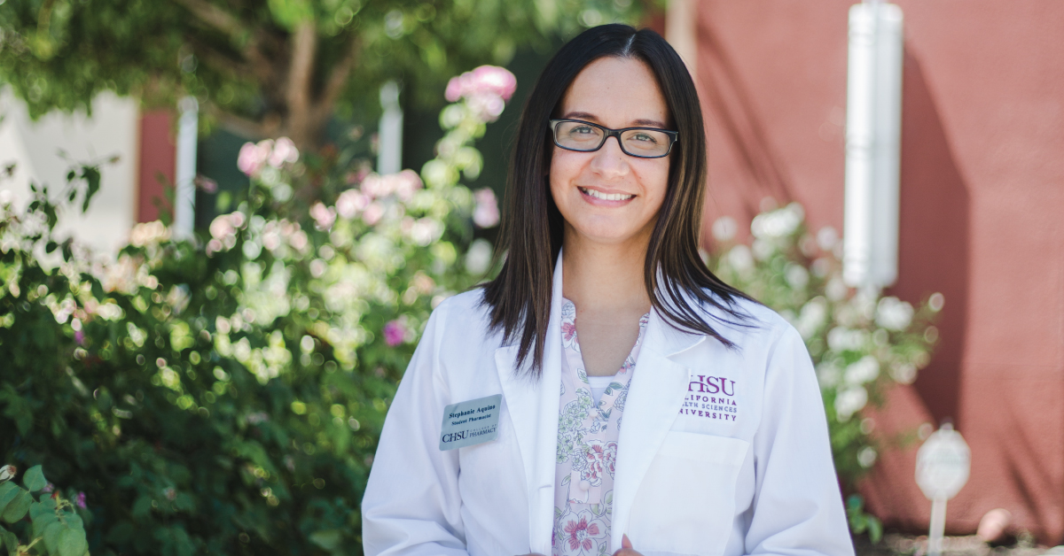 CHSU College of Pharmacy Student Receives CSHP Student Leadership Award