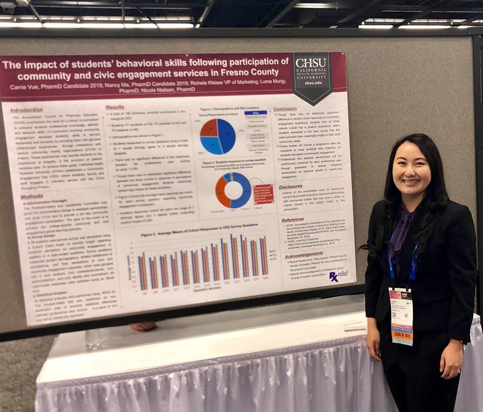 Carrie Vue Presents at the 2018 ASHP Midyear Clinical Meeting and Exhibition