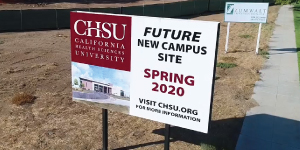 CHSU Releases Drone Footage of New Campus Site